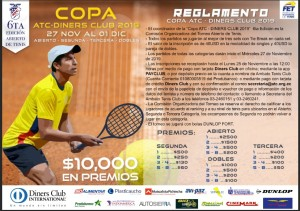 Reglamento 6to.Torneo abierto de Tenis